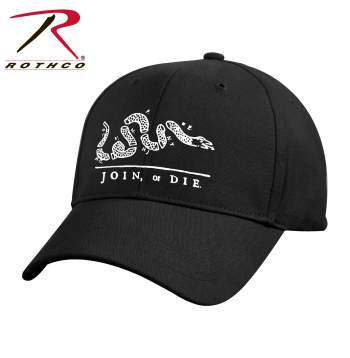 rothco join or die deluxe low profile cap, join or die deluxe low profile cap, low profile cap, deluxe low profile cap, low profile hats, low profile hat, join or die cap, join or die hat, join or die, dont tread on me hat, dont tread on me cap, dont tread on me, join or die baseball cap