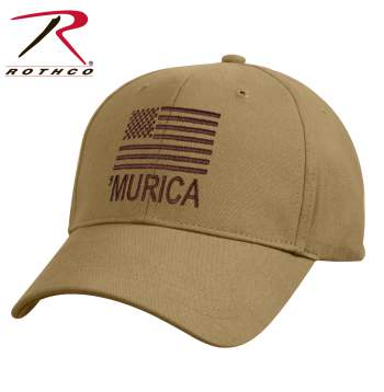rothco deluxe Murcia low profile cap, deluxe low profile cap, Murcia low profile cap, low profile cap, murica cap, murica hat, low profile hats, low profile hat, murica, merica, merica hat, merica low profile cap