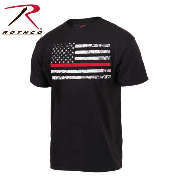 rothco red thin line flag t-shirt, red thin line, red line line t shirt, red thin line flag shirt, thin red line firefighter, thin red line flag, thin red line shirt, thin red line t-shirt, thin red line t shirt, fire fighter shirt, firefighter shirt, firefighter t shirt, firefighter shirt, firefighter support