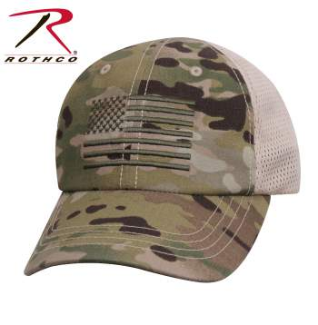 rothco mesh black tactical cap with US flag multicam, mesh tactical cap, mesh hat, tactical caps, tactical hat, multicam tactical cap, multicam cap with US flag, tactical cap with multicam US flag, black mesh tactical cap, mesh black tactical cap, multicam flag cap, black hat with flag, tactical mesh hat, mesh tactical cap with US flag