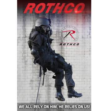 tactical poster, promotional tools, swat, police, public safety