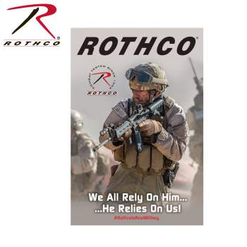 merchandising,in store display,rothco marketing,in-store promo, poster, military poster, wholesale military poster,
