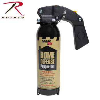 Sabre Home Defense Pepper Gel, pepper gel, pepper spray, rothco, home defense, home protection, safety, sabre, sabre products,defense pepper gel, home intruders, safety supplies, home security