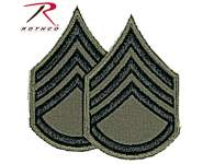 Staff Sergeant Chevron Patch, rothco patch, military patch, military rank patch, military patches, staff sergeant, military ranks
