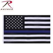 Rothco Deluxe Thin Blue Line Flag, Thin Blue Line Flag, Blue Line Flag, American Flag Thin Blue Line, Thin Blue Line American Flag, Police Thin Blue Line Flag, Law Enforcement Thin Blue Line Flag, Blue Line American Flag, Thin Blue Line USA Flag, Blue Line USA Flag, blue stripe flag, American blue stripe flag, police blue stripe flag, law enforcement blue stripe flag, USA flag with blue line, USA flag with blue stripe