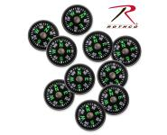 Rothco Paracord Accessory Compass, paracord, accessories, compass, wholesale compass, paracord accessory, black 2 cm compass