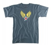 Vintage military t-shirt,graphic t-shirt,rothco military print t-shirts- military tee shirts,WINGED STAR