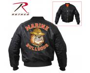 Rothco MA-1 Flight Jacket New Marine Bulldog, rothco jacket, jacket, nylon jacket, winter jacket, marines jacket, usmc jacket, military jacket, motorcycle jacket, ma1 flight jacket, ma-1 flight jacket, ma1, ma-1