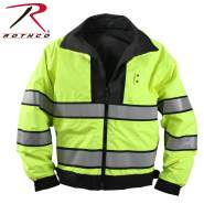 Rothco,Reversible,Hi-visibility Uniform Jacket,uniform jacket,high visibility coats,visibility jacket,high vis jacket,high visibility jacket,uniform law enforcement,waterproof jackets,shell jacket,black,yellow, security jacket, reflective jacket, emergency jacket, high visibility jacket
